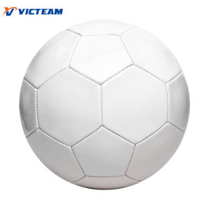 Cheap Price All Size 1.6mm PVC Blank White Football pictures & photos