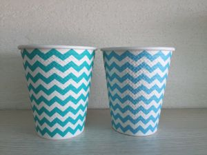New Style Embossed Hot Paper Cups 8oz pictures & photos
