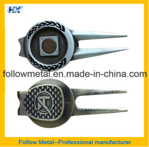 Magnet Golf Divot Repair Tool with Custom Logo pictures & photos
