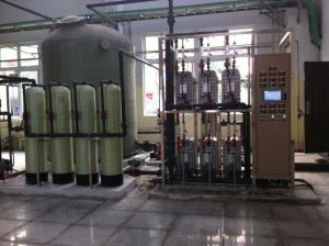 5000L/H RO EDI Mixed Bed Industrial Ultra Pure Water Treatment Plant pictures & photos