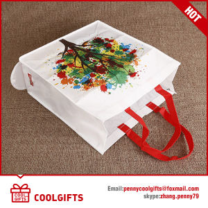 Foldable Non Woven Beach Bag, Folding Shopping Tote Bag for Gift pictures & photos