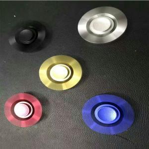 Removable Gyroscope Fingertips Spiral 6 Horn Luminous Metal Fidget Spinner pictures & photos
