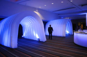 High Quality LED Light Inflatable Entrance Tunnel for Sale