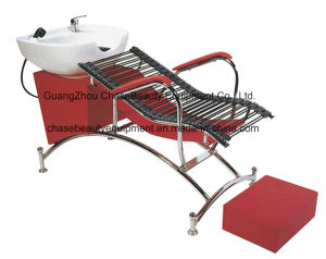 Special Cheap Red Shampoo Chair & Bed Unit Salon Equipment pictures & photos