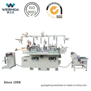 Wb300 Automatic Two Seater Die Cutting Machine