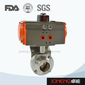 Food Grade Fluid Control Stainless Steel Valve (JN1005) pictures & photos