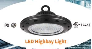 0-10V Dimmable 100W Highbay Light, 90degree Beam, Hanging Installation pictures & photos