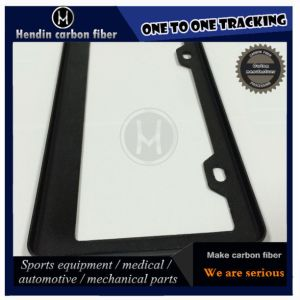 Carbon Fiber License Plate Frame pictures & photos