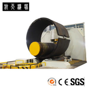 Full Hydraulic Three-Roll Variable Geometry Bending Rolls W11XB-16*3200 Rolling Machine pictures & photos