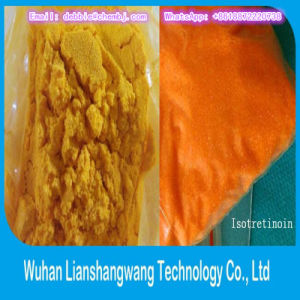 Isotretinoin CAS: 4759-48-2 Yellow Powder for Treatment of Acne Embolism pictures & photos