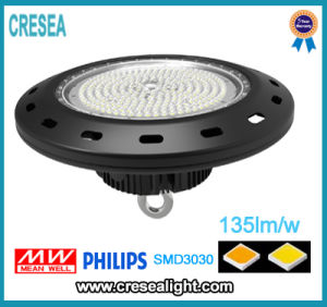 UL Dlc Approved 150W UFO LED High Bay Light 150W/W for Warehouse, Facotory