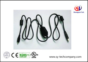 Fire Wire IEEE 1394 Cable with Two Ferrite Core pictures & photos