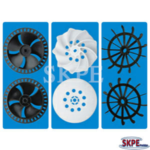 Precision Plastic Injection Mould Product, Motor Fan, Motor Plastic Part pictures & photos