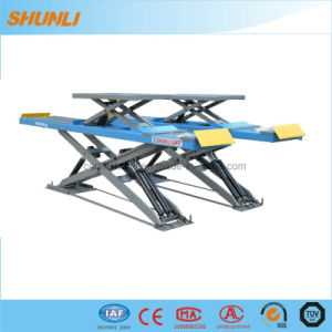 Ultrathin Scissor Lift with Wheel Alignment pictures & photos