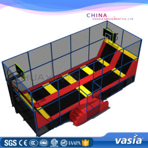 Children Jumping Bed Fitness Trampoline Amusement Equipment pictures & photos