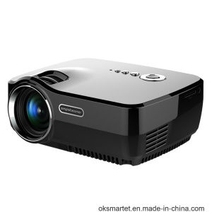 Oksmart Factory 2016 New Wireless Connection 1200lumens LED Projector pictures & photos