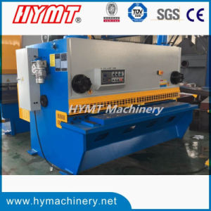 QC11Y-20X4000 NC control hydraulic guillotine shearing machine pictures & photos