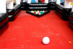 Inflatable Human Soccer Billiards Chsp519 pictures & photos