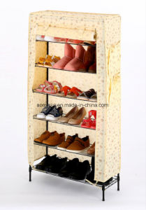 Amjss046b Metal Shoe Rack with Ce Certification pictures & photos