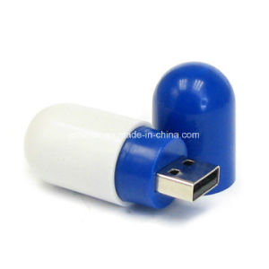 ABS Pill USB Stick USB 3.0 Memory Stick Thumbdrive Plastic USB Flash Drive pictures & photos