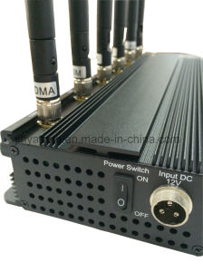 Adjustable 15W 6 Bands Police Use Wireless Signal Jammer pictures & photos