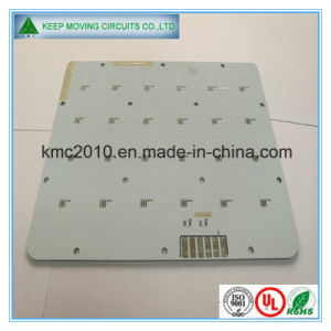 1 Layer Al Based PCB with White Solder Mask pictures & photos