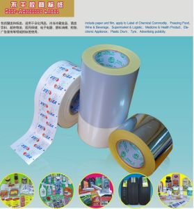 Self-Adhesive Pet Label Film (RoHS& Reach) pictures & photos