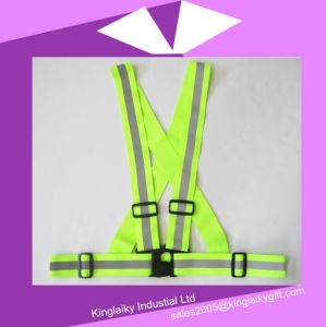 Traffic Vest with Reflective Tape with Logo Branding Ksv017-002 pictures & photos
