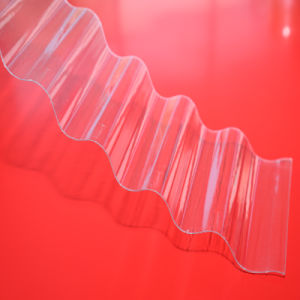 1.5mm Plastic Solid Corrugated Polycarbonate Sheet pictures & photos