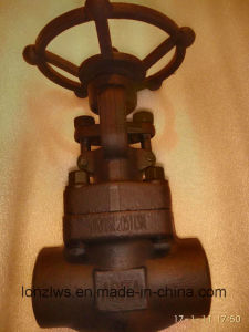 Forged Steel Globe Valve Class1500 pictures & photos