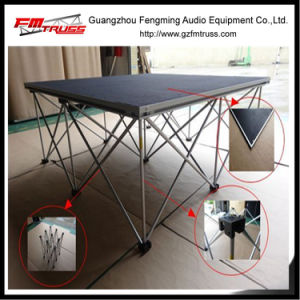 Foldable Aluminum Alloy Material Stage Structure pictures & photos