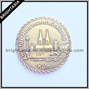 3D Metal High Quality Commemorative Coin (BYH-101185) pictures & photos