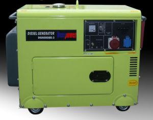 50Hz 3phase 6kVA 7kVA 8kVA Electric Air Cooled silent Diesel Generator Set