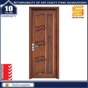 Customize Low Cost Home Interior Wooden Doors pictures & photos
