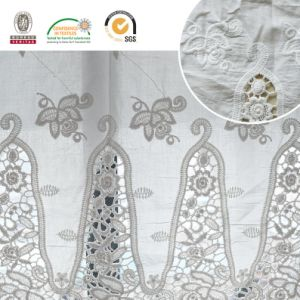 Fashion Funnel Pattern Lace Fabric Material 2017 E30014 pictures & photos