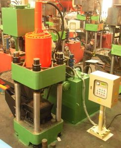Iron Chippings and Shavings Hydraulic Briquetting Press Metal Scrap Briquette Machine-- (SBJ-315) pictures & photos