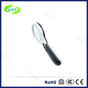 15X Handheld Magnifier with LED Light for Currency Detecting Function pictures & photos