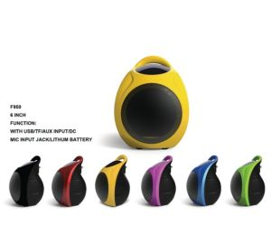 Feiyang/Temeisheng Mini Colorful Portable Speaker F950 pictures & photos