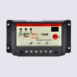 12V/24V 5A/10A/15A/20A Automatic Manual PWM Solar Charge Controller pictures & photos