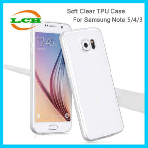 Clear Transparent Soft TPU Phone Cases for Samsung Note 5/4/3 pictures & photos