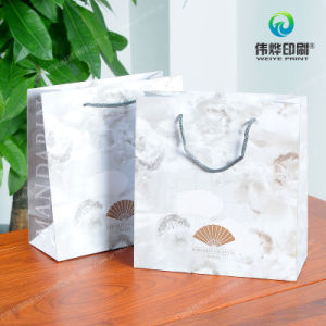 Matte Laminated Deluxe Paper Gift Bags Printing pictures & photos