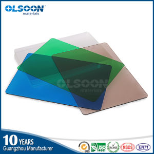Olsoon High Quality 100% New Virgin Material Color Clear Acrylic Sheet pictures & photos