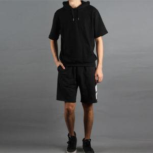OEM Short Sleeve Fleece Popular Training Hoody pictures & photos