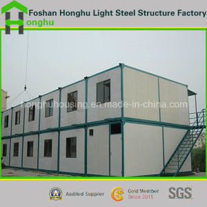 Durable Steel Structure Prefabtricated House Container House pictures & photos