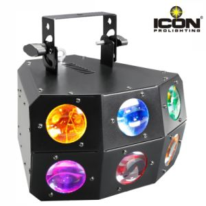 Good Quality 24X3w RGBA 4in1 LED Beam Light with Derby Matrix pictures & photos