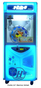 Toy Crane Claw Vending Game Machine for Sale (ZJ-CG07) pictures & photos