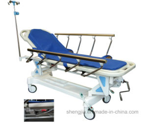 Sjm002-B Luxuruious Rise-and-Fall Stretcher Cart