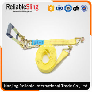 2 Inch Double J Hook Strap Ratchet Container Lashing pictures & photos
