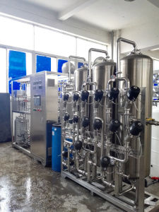 Double Stage RO+EDI+UV USP Grade Purified Water System for Process Water pictures & photos