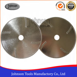 105-300mm Electroplated Diamond Saw Blade with Protection Teeth for Marble and Granite Cutting pictures & photos